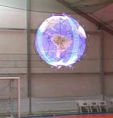 无人机球形显示屏 影像残留技术显示