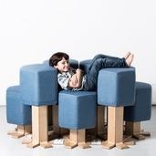 随意升降、变形的智能沙发