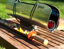 这款太阳能炊具,20分钟就能烤出一桌子菜