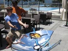 太阳能灶 户外做饭的神器