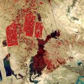 卫星图片俯瞰地球:每一张都如同艺术画