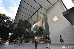 海外华人国家第一间苹果零售店 依旧美轮美奂
