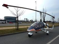 GyroDrive全球第一辆合法的飞行汽车