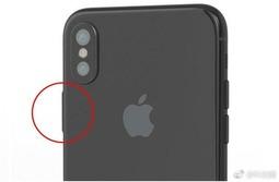 传闻中iPhone 8的指纹有可能放置在侧边电源键位置