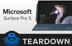 微软全新Surface Pro拆解:SSD焊死 拆开易报废