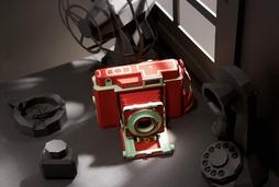 以假乱真 韩国艺术家用纸打造相机模型