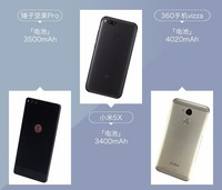 千元机标配4GB内存 坚果/小米/360PK