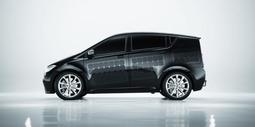 Sion电动车 车顶车身覆盖太阳能面板