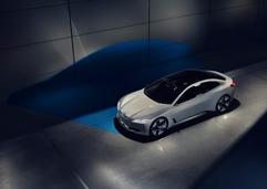 宝马全新豪华电动概念跑车i Vision Dynamics