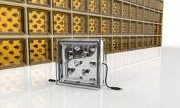 光伏新产品:太阳能玻璃砖