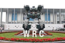 新浪科技探世界机器人大会:炫酷吸睛的机器人总动员