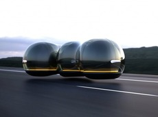 上海交大美女用两个星期设计的未来汽车,获得了法国雷诺的大奖