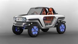 铃木用e-Survivor概念车解读SUV的未来