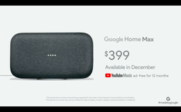 谷歌Home Max智能音箱