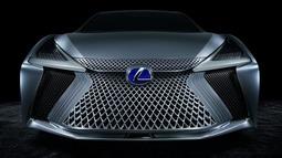 雷克萨斯发布自动驾驶概念汽车LS+