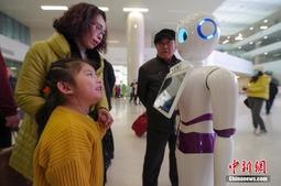 北京医院智能导诊机器人上岗