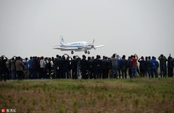 全球首款大型民用货运无人机演示飞行成功