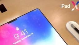 放大版iPhone X? 看iPad X可能长什么样