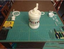 DIY机械计算器,用3D打印技术体验更棒