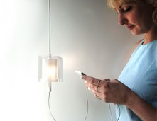 插座吊灯……是吊灯,同时也是插座