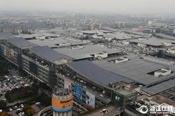 中国小商品城20兆瓦屋顶光伏并网发电
