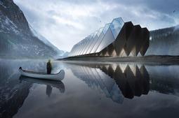 钻石酒店……一人住在一颗钻石中,超级科幻