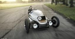 摩根公司推复古电动三轮汽车 安装20千瓦时锂电池