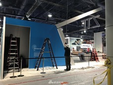 CES2018图集预告:展馆尚未建设好 中国公司展位多