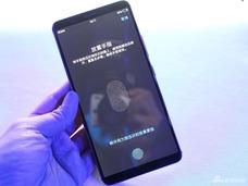 全球首款屏下指纹量产机 vivo X20UD版现场图赏