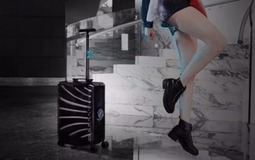 智能跟随~自动行走行李箱来了!