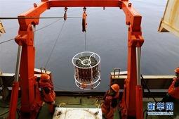 中国在南极罗斯海开展海洋立体调查
