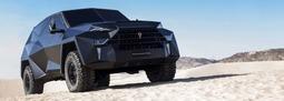 这款 SUV 能让你活到世界末日……对,它丫的还是隐形的!