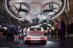 奥迪携手空客推无人机汽车概念交通工具:任何地方起降