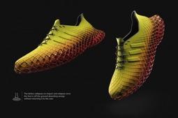 阿迪达斯的3D打印运动鞋,看上去就像悬浮空中