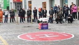 京东无人机青藏高原首次配送 正式启动高原全场景无人机应用