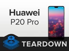 iFixit拆解华为P20 Pro:探究后置三摄的秘密