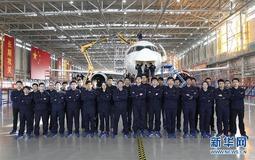 """他们为国产大飞机""""插上梦想的翅膀""""记上海飞机制造有限公司C919事业部总装车间"""