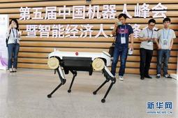 第五届中国机器人峰会在浙江举行