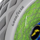 全球最环保的轮胎,里面长满苔藓边跑边净化空气