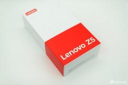 联想Z5开箱图赏:屏占比不低 跑分不高