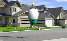 """从""""飞蛋""""到""""UFO飞行摩托"""":人类""""飞行""""或成现实"""