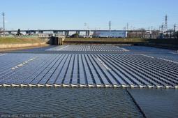 探访日本水上光伏电站:漂浮4500块电池板