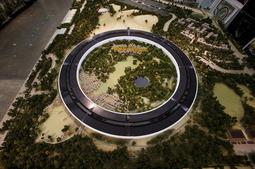 苹果飞碟总部高清图赏