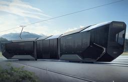 俄罗斯推出新型有轨电车Russia One