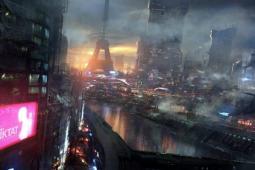 科幻!法国设计师描绘2084年未来城市情景
